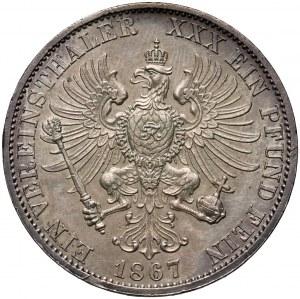 Niemcy, Prusy, Wilhelm I, talar 1867 A, Berlin