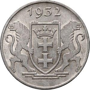 Wolne Miasto Gdańsk, 5 guldenów 1932, Berlin, Kościół Marii Panny
