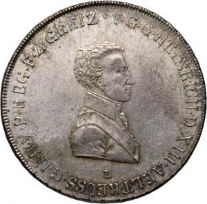 Germany, Reuss, Heinrich XIII, Thaler 1812 L