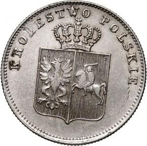 Powstanie Listopadowe, 2 złote 1831 KG, Warszawa, SKRĘTKA