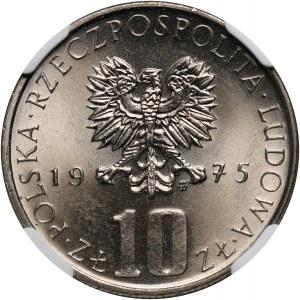 PRL, 10 złotych 1975, Bolesław Prus