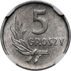 PRL, 5 groszy 1958