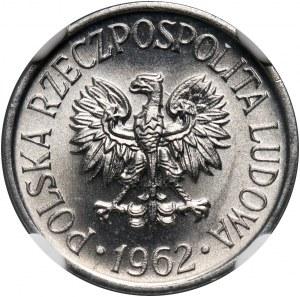 PRL, 5 groszy 1962