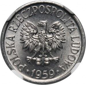 PRL, 5 groszy 1959