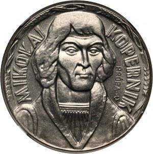 PRL, 10 złotych 1959, Mikołaj Kopernik, PRÓBA, nikiel