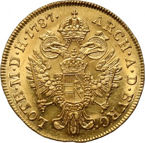 Austria, Józef II, dukat 1787 A, Wiedeń