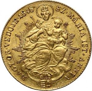 Węgry, Ferdynand V, dukat 1848, Kremnica