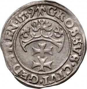 Zygmunt I Stary, grosz 1539, Gdańsk