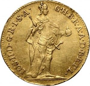 Węgry, Józef II, dukat 1781, Kremnica