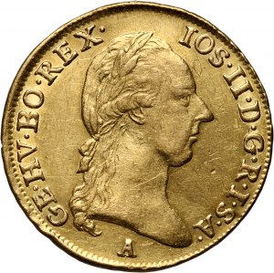 Austria, Józef II, dukat 1786 A, Wiedeń