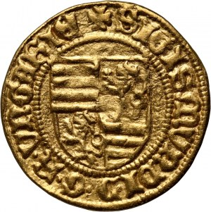 Węgry, Zygmunt Luksemburski 1387-1437, goldgulden bez daty, Kremnica