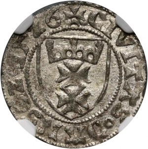 Zygmunt I Stary, szeląg 1526, Gdańsk