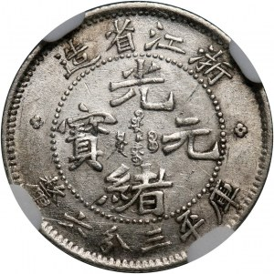 Chiny, Chekiang, 5 centów bez daty (1899)