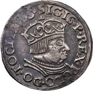 Zygmunt I Stary, trojak 1535, Gdańsk