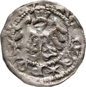 Władysław Jagiełło 1386-1434, półgrosz, Kraków, sygnatura U