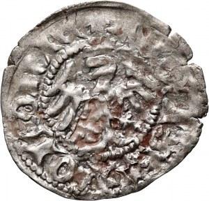 Władysław Jagiełło 1386-1434, półgrosz, Kraków, sygnatura A