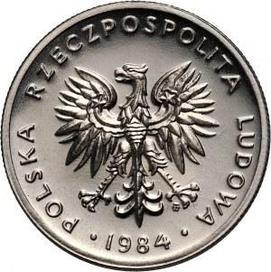 PRL, 20 złotych 1984, PRÓBA, nikiel