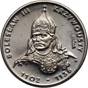 PRL, 50 złotych 1982, Bolesław III Krzywousty, PRÓBA, nikiel