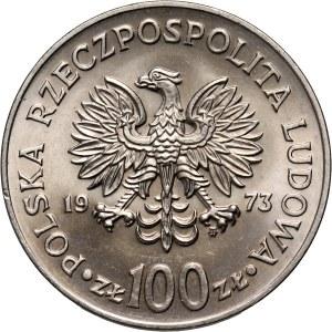PRL, 100 złotych 1973, Mikołaj Kopernik, PRÓBA, nikiel