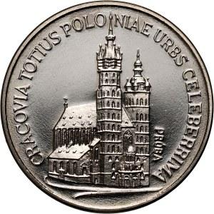 PRL, 100 złotych 1981, Kościół Mariacki w Krakowie, PRÓBA, nikiel