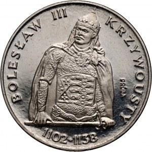 PRL, 200 złotych 1982, Bolesław III Krzywousty półpostać, PRÓBA, nikiel