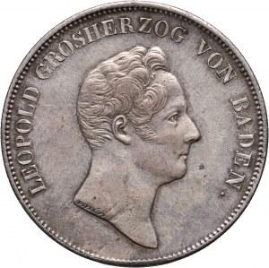 Germany, Baden, Karl Leopold, Thaler 1834, Blessing on the Baden Mines