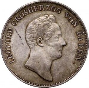 Niemcy, Badenia, Karol Leopold, talar 1836