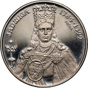 PRL, 500 złotych 1988, Jadwiga, PRÓBA, nikiel