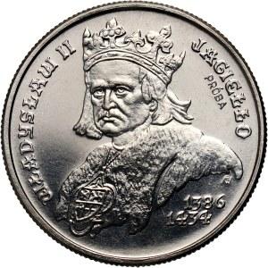 PRL, 500 złotych 1989, Władysław II Jagiełło, PRÓBA, nikiel