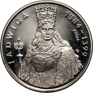 PRL, 1000 złotych 1988, Jadwiga, PRÓBA, nikiel
