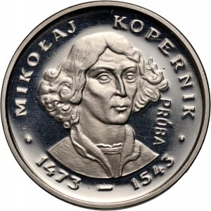 PRL, 2000 złotych 1979, Mikołaj Kopernik, PRÓBA, nikiel