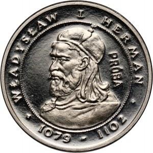 PRL, 2000 złotych 1981, Władysław I Herman, PRÓBA, nikiel