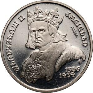 PRL, 5000 złotych 1989, Władysław II Jagiełło, PRÓBA, nikiel