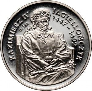 III RP, 200000 złotych 1993, Kazimierz IV Jagiellończyk półpostać, PRÓBA, nikiel
