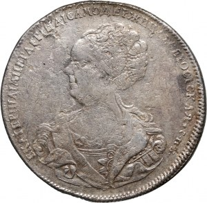 Russia, Catherine I, Rouble 1725, St. Petersburg