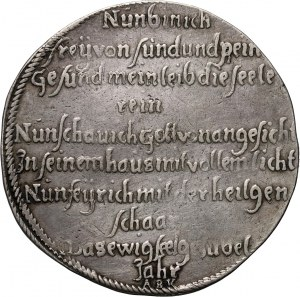 Germany, Saxony-Gotha, Ernst der Fromme, Thaler 1671, Gotha