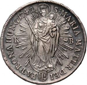 Węgry, Maria Teresa, talar 1742 KB, Kremnica