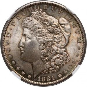 Stany Zjednoczone Ameryki, dolar 1881 S, San Francisco, Morgan