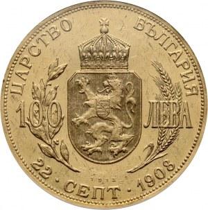 Bulgaria, Ferdinand I, 100 Leva 1912