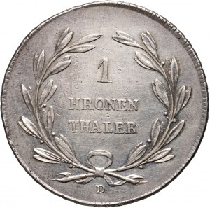 Niemcy, Badenia, Karol Ludwik Fryderyk, talar 1816 D