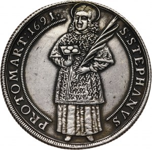 Niemcy, Halberstadt, talar 1691