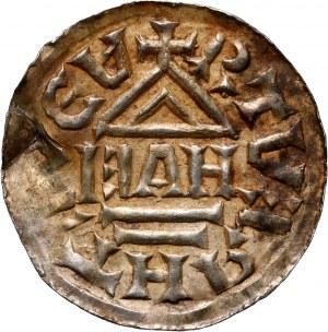 Czech, Bohemia and Moravia, Boleslaw Chrobry, Denar c. 1003-1004, Prague