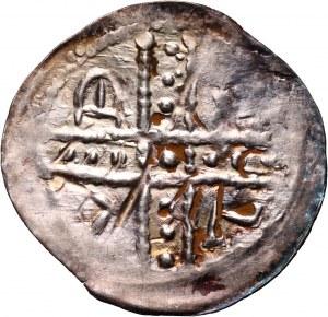 Śląsk, Bolesław I Wysoki 1163–1201, denar, Wrocław
