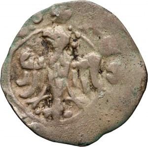 Kazimierz III Wielki 1333-1370, denar, Kraków