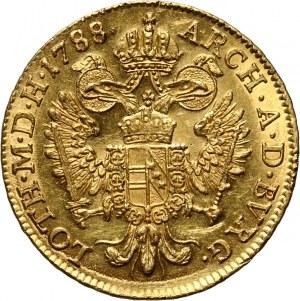 Austria, Józef II, dukat 1788 B, Kremnica