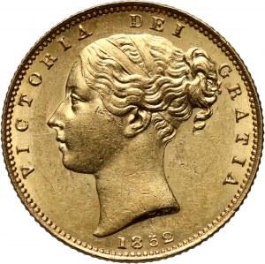 Wielka Brytania, Wiktoria, suweren 1852, Londyn