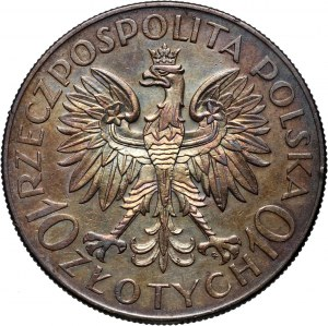 II RP, 10 złotych 1933, Warszawa, Romuald Traugutt