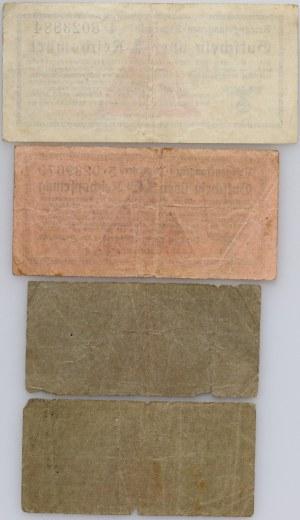 Universal camp vouchers, Kriegsgefangenen- Lagergeld, 1 Reichspfennig - 1 Reichsmark