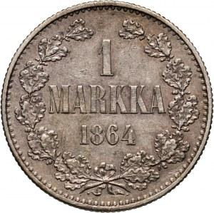 Finlandia, 1 marka 1864 S, Helsinki