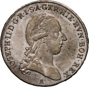 Austria, Józef II, półtalar 1790 A, Wiedeń